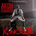 Akon - The Koncrete Mixtape mixtape cover art