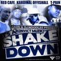 Konvict Muzik - It's A Shakedown mixtape cover art