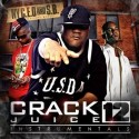 Crack Juice Instrumentals 12 mixtape cover art