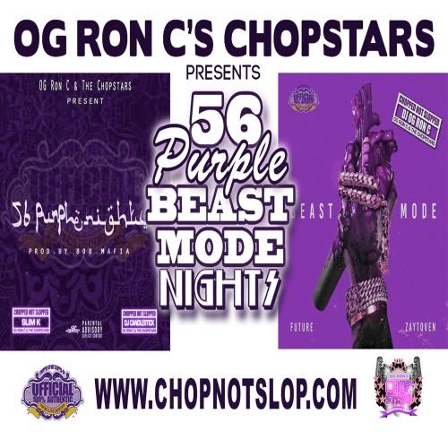 Future - 56 Purple Beast Mode Nights - OG Ron C, DJ