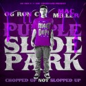 Mac Miller - Purple Slide Park (Chopped Not Slopped) mixtape cover art