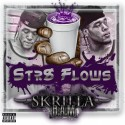 Skrilla BAM - Str8 Flows (Chopped Not Slopped) mixtape cover art