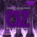 UZ - Balltrap Music Vol. 1 (Chopped Not Slopped) mixtape cover art