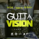 Gutta Vision 2 mixtape cover art