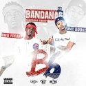Young Booke & Uno Freaky - Bandana 6 mixtape cover art