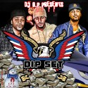 Dip Set mixtape cover art