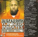 E-Gutta - Yonkers Inmates (Free Geez), Vol.1 mixtape cover art