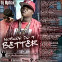 Nobody Do It Better mixtape cover art