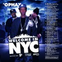 Welcome In NYC mixtape cover art
