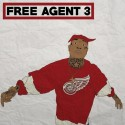 Young Sizzle - Free Agent 3 mixtape cover art