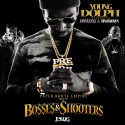 Young Dolph, Jay Fizzle & Bino Brown - Bosses & Shooters mixtape cover art