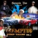 PB Mempfis - Pimp Tales, Vol.1 (Hosted by Gangsta Boo) mixtape cover art