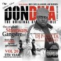 Street Wars 20 (Gangster) mixtape cover art