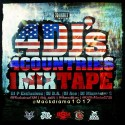4 DJ's, 4 Countries, 1 Mixtape mixtape cover art