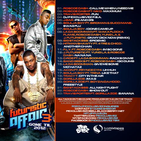 Futuristic Affair 3 Back Cover