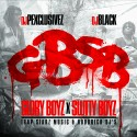 Glory Boyz x Slutty Boyz mixtape cover art