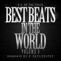 K.E. On The Track - Best Beats In The World 3 mixtape cover art