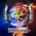 K.E. On The Track - Best Beats In The World 4 mixtape cover art