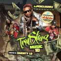 Trap Starz 10 (Hosted By Shawty Lo) mixtape cover art