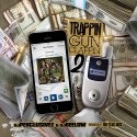 Trappin N Gun Clappin 2 mixtape cover art