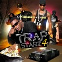 Trap Starz 4 (Dirty Money Edition) mixtape cover art