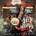 Yung Fresh - Street Motivation mixtape cover art