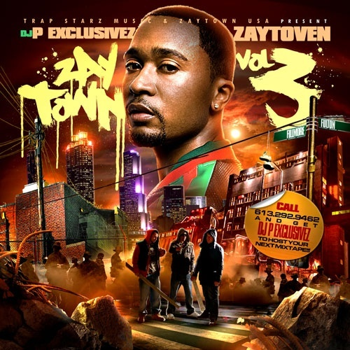 Zaytoven & DJ P Exclusivez – Zaytown 3 [Artwork]