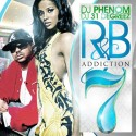 R&B Addiction 7 mixtape cover art