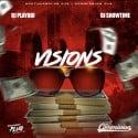 Visions mixtape cover art