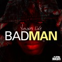 Young Live - BadMan EP mixtape cover art