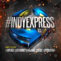 Indy Express mixtape cover art