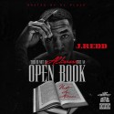 J Redd - Open Book mixtape cover art