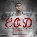 Jhonny 1K - E.O.D. (End Of Discussion) mixtape cover art