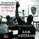 The Demi-Stration (G.E.D. Edition) mixtape cover art