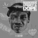 Street Money Boochie & Tracy T - Diamonds, Money & Dope mixtape cover art