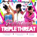 Tekaboo - Triple Threat mixtape cover art