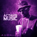 Lil Man - Actavis Music mixtape cover art