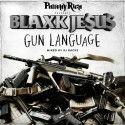 Blaxk Je$u$ - Gun Language mixtape cover art