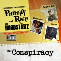 Philthy Rich & The Hoodstarz - The Conspiracy mixtape cover art