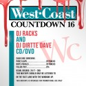 Westcoast Countdown 16 mixtape cover art