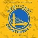 Westcoast Countdown 17 mixtape cover art