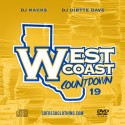 Westcoast Countdown 19 mixtape cover art
