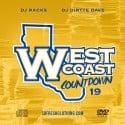 Westcoast Countdown 19 mixtape cover art