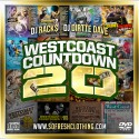 Westcoast Countdown 20 mixtape cover art