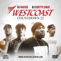 Westcoast Countdown 22 mixtape cover art