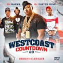 Westcoast Countdown 23 mixtape cover art