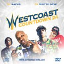 Westcoast Countdown 24 mixtape cover art