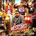 Westcoast Countdown 25 mixtape cover art