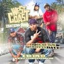 Westcoast Countdown 8 mixtape cover art