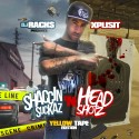 Xplisit - Shaccin Suckaz & Head Shotz mixtape cover art